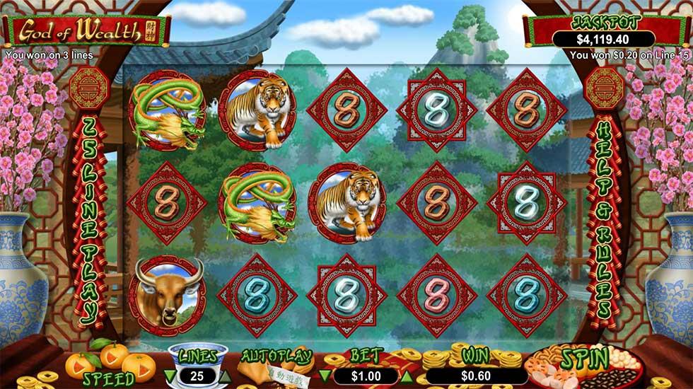 God of Wealth Slot Machine